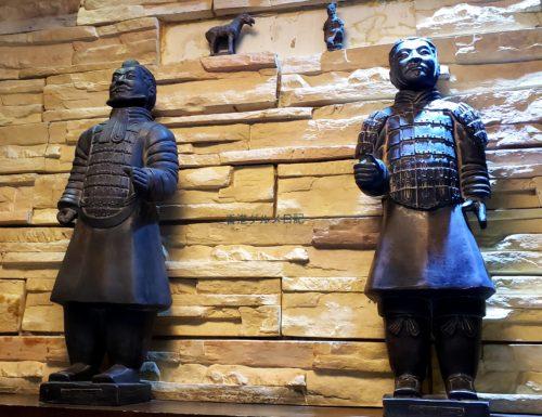 中国兵馬俑の置物