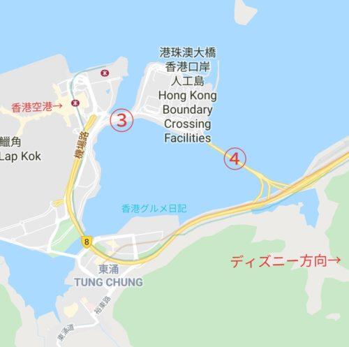 香港空港からディズニーへのアクセス