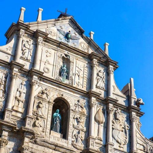 マカオの聖ポール天主堂跡