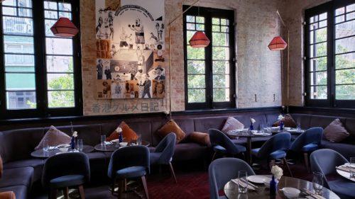 大人の雰囲気漂う飲茶レストラン