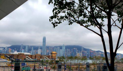 香港ハーバーの景色
